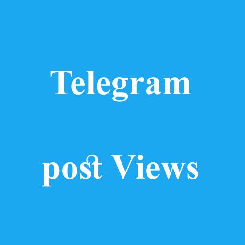 Telegram Post Views